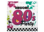 80's Party Napkins