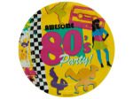 Awesome 80's Party Plates