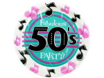 8 pack 50`s theme plates