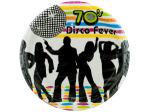 70's Theme Party Plates