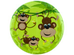 10ct monkey plates