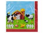 16ct on the farm napkins