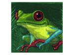 18ct fun frogs bev napkin
