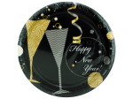 8 pack flute and favors paper plates