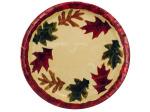 "8pk 6.75"" autumn plates"
