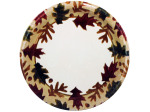 8 pack autumn plates