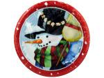 "8pk 6.75"" snow pals plate"