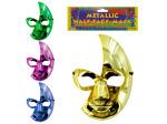 Metallic half face mask