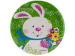 8pk 6 7/8 bunny plates