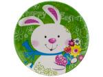 """8pk 8.75"""" bunny plates"""