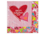 18 pack 12.875 x 12.75 inch candy crush lunch napkins