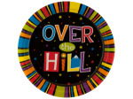 8ct over the hill plates