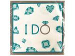 16 pack celebrate diamonds lunch napkins 12 7/8 x 12 3/4 in.