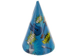 6 pack boy rock party hats