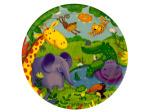 8 pack jungle buddies plates 8 3/4 inch