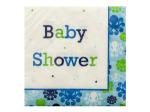 Ocean Boy Baby Shower Napkins Set