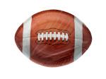 All Star Football Football-Shaped Plates Set