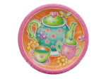 Tea for You Round Dinner Plates Set