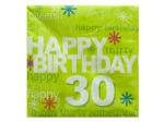 '30' Time to Party Napkins Set