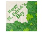 St. Patrick's Day Shamrocks Napkins Set