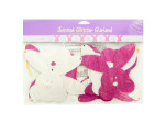 Bunny Jointed Glitter Garland