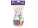 Easter Bunny Cello Zipper Treat Bags