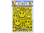 Happy face favor bags