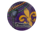 Mardi Gras Rue Bourbon Party Plates