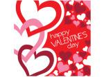 Happy Valentine's Day Lunch Napkins Set