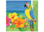 Tropical Vacation Lunch Napkins Set