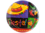Festive Fiesta Round Party Plates