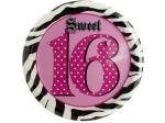 Sweet 16 Birthday Plates