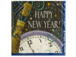 Happy New Year Champagne Lunch Napkins