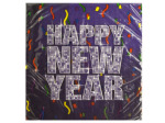 Happy New Year Bling Lunch Napkins