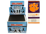 Clemson Athletics Pocket Tissues Countertop Display
