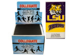 LSU Tigers Pocket Tissues Countertop Display