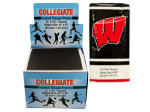 Wisconsin Badgers Pocket Tissues Countertop Display