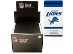Detroit Lions Pocket Tissues Countertop Display