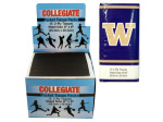 Washington Huskies Pocket Tissues Countertop Display