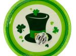 Irish Party Round Plates Set