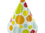Chic Polka Dot Adult Party Hats