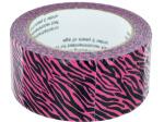 Neon Pink Zebra Duct Tape