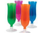 Colorful Hurricane Party Glass