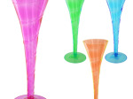 Colorful Champagne Party Glass