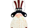 Uncle Sam Hanging Wall Decor