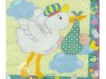 Stork's Surprise Baby Shower Napkins
