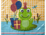 Frog Pond Fun Lunch Napkins
