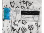 Mod Blooms Birthday Beverage Napkins
