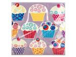 Sweet Cupcake Lunch Napkins Set