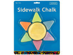 Sunshine Shaped Sidewalk Chalk